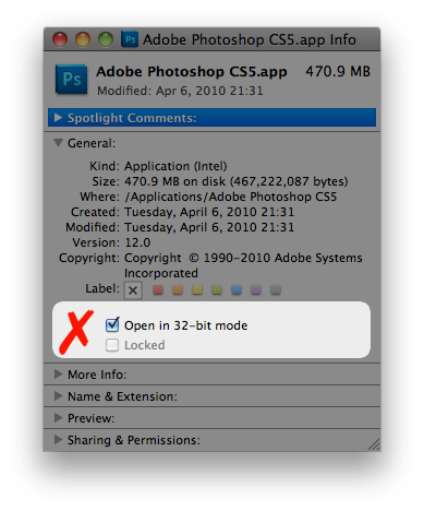 Plugin compatibility fix for photoshop cs5 mac homepage of egor ccuart Images